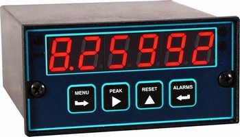 Panel Meter displays duty cycle for signals to 10 kHz.