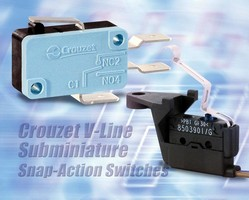 Custom Sensors & Technologies (CST) Introduces Crouzet Snap-Action Switches