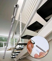 Cable Railing Fittings eliminate field swaging.