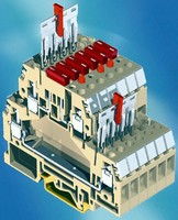 Fuse Terminal Blocks are built with space saving design.