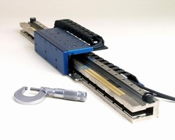 Linear Positioning Stages offer speeds up to 240 in./sec.