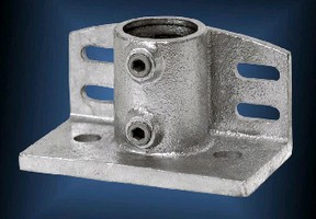 Structural Pipe Fittings accommodate toe boards.