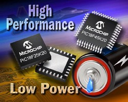 Microcontrollers suit battery-operated applications.