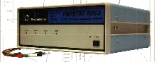 Potentiostat/Galvanostat can be operated with AC/DC converter.