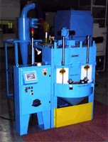 Bead Blast System Cleans Brazed Parts