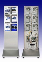 Multi-Display Unit provides customer information.