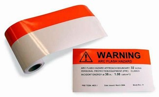 DuraLabel Arc Flash Labels Available to Meet NEC 2008 Requirements