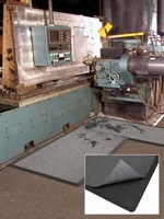 Antifatigue Matting is designed for use with sorbent pads.