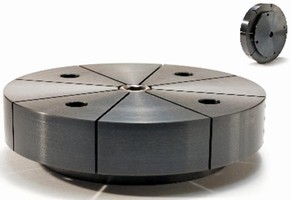 Mild Steel, Machinable Clamp suits VMC, HMC applications.