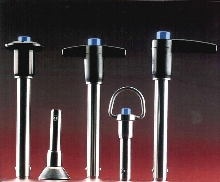 Locking Pins are used where quick release is needed.