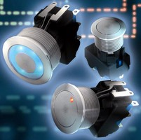 Metal Pushbutton Switch is offered in various versions.