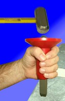 Stamp Grip offers safe approach to steel hand stamping.