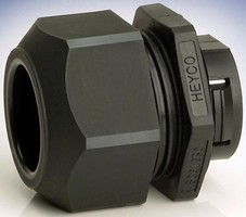 Wire Protector provides cord/cable strain relief.