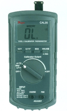 RTD Calibrator measures and simulates signals.