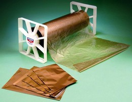 Wrapping Material protects against corrosion.