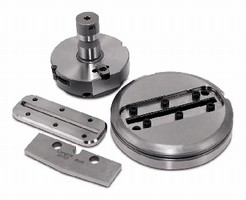 Slitting Tool System combines punch/die inserts and holders.
