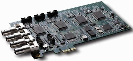 Video Capture Card is based on PCI Express® bus.