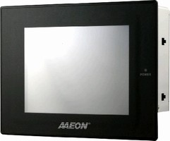 Panel PC features 7 in. 16:9 LCD display.