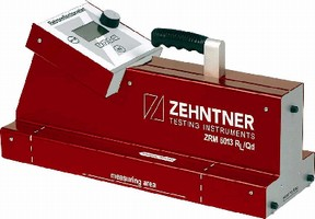 RL/Qd Retroreflectometer conforms to EN 1436, ASTM E 1710.