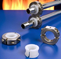 Pipe Mounting Collars compensate for thermal expansion.