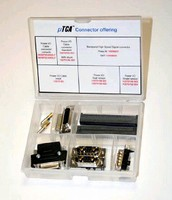 Connectors comply with MicroTCA(TM) specification.