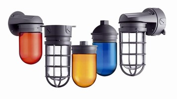 Lighting Fixtures feature vaporproof design.
