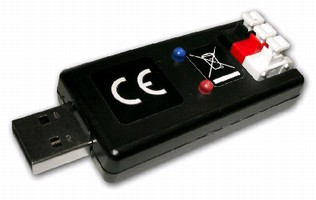 USB Interface Device connects sensors to PCs and laptops.