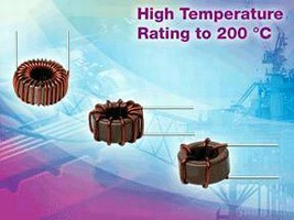 Toroidal Inductor features current rating of 2.8-36 A.