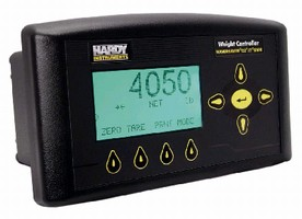 Weight Controller features Profibus DP communications.