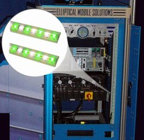 Bi-Color LED Assembly illuminates portable enclosures.