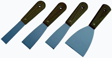 Scraper Set includes stiff and flexible blade models.