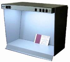 Portable Desktop Viewer offers 4 light sources.