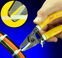 Ergonomic Hand Tool facilitates safe cable tie removal.