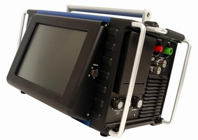Welding Power Supply provides up to 200 A and weighs 50 lb.