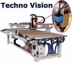 CNC Routers use verification system to cut digital prints.