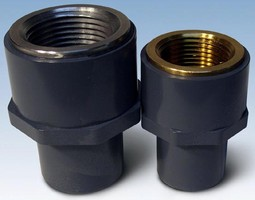 Metal-to-Plastic Transition Fittings offer leak-proof seals.