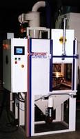 Blast Cabinet automates surface preparation.