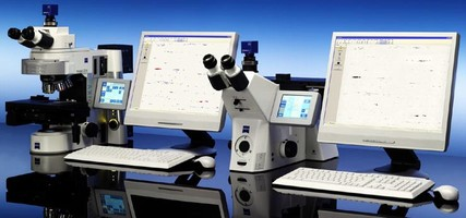 Microscope System determines content of NMI in steel.