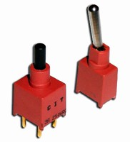 Toggle and Pushbutton Switches feature sub-miniature design.