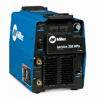 Inverter features built-in pulsed MIG programs.