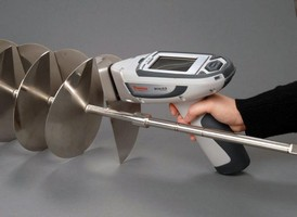 Handheld Material Analyzer utilizes x-ray fluorescence.