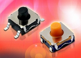 Tactile Switches feature sound tunable design.