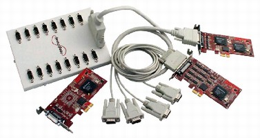 Multiport Serial Cards offer high-speed communications.