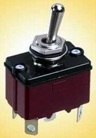 Sealed Toggle Switch suits harsh, outdoor applications.