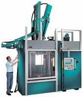 Injection Press is designed for rubber molders.