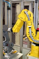 Robotic Knife Trimming System offers turnkey operation.
