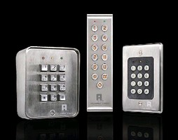 Keypads each control access of of single entry point.
