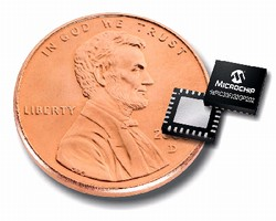 Digital Signal Controllers are offered in 6 x 6 mm packages.