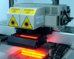 Laser System enables high-precision material processing.
