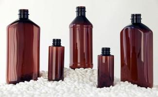 Masterbatches let molders color PET for prescription bottles.